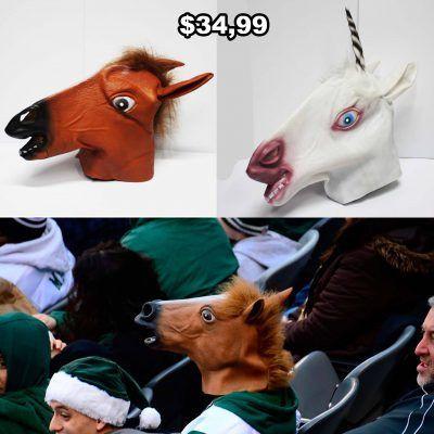 Máscara Varios Cabeza de Caballo Ecuador Comprar Venden, Bonita Apariencia ideal para los fans, practica, Hermoso material plástico Color como en la imagen Estado nuevo