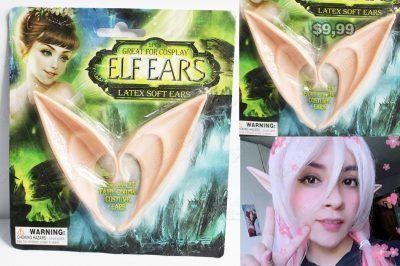 Orejas Varios Duende Elf Ears Ecuador Comprar Venden, Bonita Apariencia ideal para los fans, practica, Hermoso material de algodón Color como en la imagen Estado nuevo