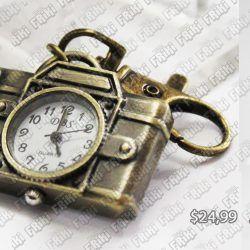 Reloj de collar Varios Cámara Dorada Ecuador Comprar Venden, Bonita Apariencia ideal para los fans, practica, Hermoso material de bronce niquelado Color como en la imagen Estado nuevo