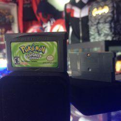 Videojuegos para consola Game Boy Advance Pokémon Leaf Green Ecuador Comprar Venden, Bonita Apariencia ideal para los fans, practica, Hermoso material de papel Color como en la imagen Estado usado