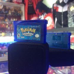 Videojuegos para consola Game Boy Advance Pokémon Saphire Ecuador Comprar Venden, Bonita Apariencia ideal para los fans, practica, Hermoso material de papel Color como en la imagen Estado usado