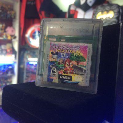 Videojuegos para consola Game Boy Color Disney Magical Race Tour Ecuador Comprar Venden, Bonita Apariencia ideal para los fans, practica, Hermoso material de papel Color como en la imagen Estado usado