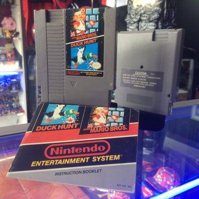 Videojuegos para consola NES Super Mario Bros x Duck Hunt Ecuador Comprar Venden, Bonita Apariencia ideal para los fans, practica, Hermoso material de papel Color como en la imagen Estado usado