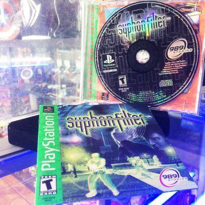 Videojuegos para consola PS1 Syphon Filter Ecuador Comprar Venden, Bonita Apariencia ideal para los fans, practica, Hermoso material de papel Color como en la imagen Estado usado