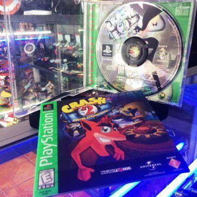 Videojuegos para consola PS1 Crash Bandicoot 2 Ecuador Comprar Venden, Bonita Apariencia ideal para los fans, practica, Hermoso material de papel Color como en la imagen Estado usado