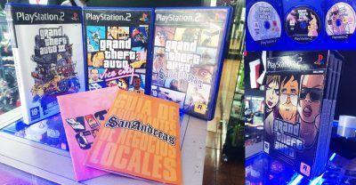 Videojuegos para consola PS2 Pack GTA: III, Vice City, San Andreas Ecuador Comprar Venden, Bonita Apariencia ideal para los fans, practica, Hermoso material de papel Color como en la imagen Estado usado