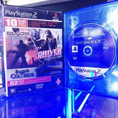Videojuegos para consola PS2 Demos jugables Ecuador Comprar Venden, Bonita Apariencia ideal para los fans, practica, Hermoso material de papel Color como en la imagen Estado usado