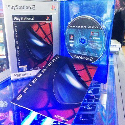 Videojuegos para consola PS2 Spiderman Ecuador Comprar Venden, Bonita Apariencia ideal para los fans, practica, Hermoso material de papel Color como en la imagen Estado usado