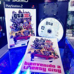 Videojuegos para consola PS2 GTA III Ecuador Comprar Venden, Bonita Apariencia ideal para los fans, practica, Hermoso material de papel Color como en la imagen Estado usado