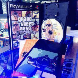 Videojuegos para consola PS2 GTA: San Andreas Ecuador Comprar Venden, Bonita Apariencia ideal para los fans, practica, Hermoso material de papel Color como en la imagen Estado usado