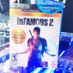 Videojuegos para consola PS3 inFamous 2 Ecuador Comprar Venden, Bonita Apariencia ideal para los fans, practica, Hermoso material de papel Color como en la imagen Estado usado