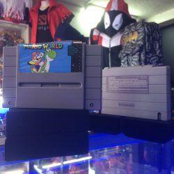 Videojuegos para consola SNES Super Mario World Ecuador Comprar Venden, Bonita Apariencia ideal para los fans, practica, Hermoso material de papel Color como en la imagen Estado usado