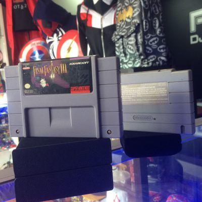 Videojuegos para consola SNES Final Fantasy III Ecuador Comprar Venden, Bonita Apariencia ideal para los fans, practica, Hermoso material de papel Color como en la imagen Estado usado