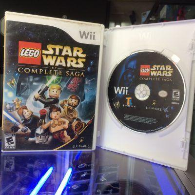 Videojuegos para consola Wii Lego Star Wars: The complete saga Ecuador Comprar Venden, Bonita Apariencia ideal para los fans, practica, Hermoso material de papel Color como en la imagen Estado usado