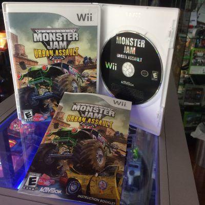 Videojuegos para consola Wii Monster Jam: Urban Assault Ecuador Comprar Venden, Bonita Apariencia ideal para los fans, practica, Hermoso material de papel Color como en la imagen Estado usado