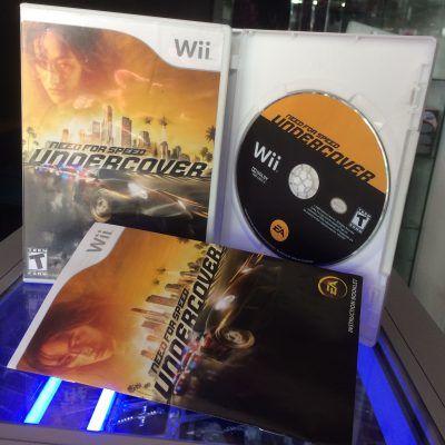 Videojuegos para consola Wii Need for Speed: Undercover Ecuador Comprar Venden, Bonita Apariencia ideal para los fans, practica, Hermoso material de papel Color como en la imagen Estado usado
