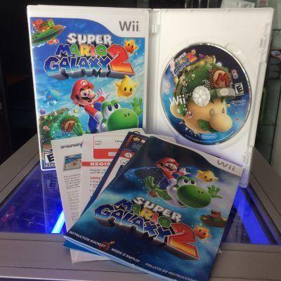 Videojuegos para consola Wii Super Mario Galaxy 2 Ecuador Comprar Venden, Bonita Apariencia ideal para los fans, practica, Hermoso material de papel Color como en la imagen Estado usado