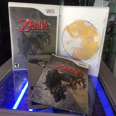 Videojuegos para consola Wii The Legend of Zelda Twilight Princess Ecuador Comprar Venden, Bonita Apariencia ideal para los fans, practica, Hermoso material de papel Color como en la imagen Estado usado