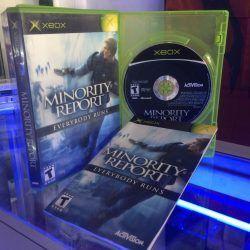 Videojuegos para consola Xbox Minority Report Ecuador Comprar Venden, Bonita Apariencia ideal para los fans, practica, Hermoso material de papel Color como en la imagen Estado usado