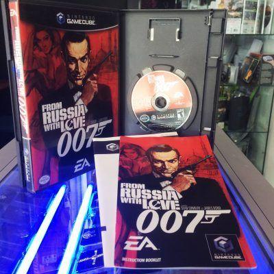Videojuegos para consola GameCube 007 From Rusia with Love Ecuador Comprar Venden, Bonita Apariencia ideal para los fans, practica, Hermoso material de papel Color como en la imagen Estado usado