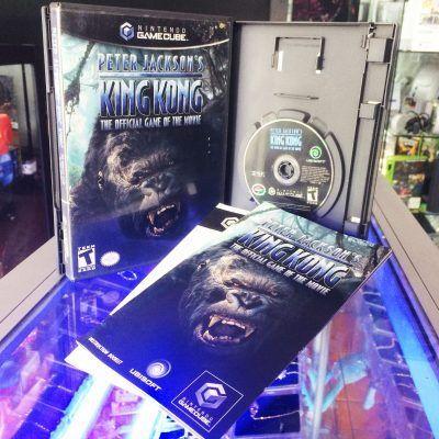 Videojuegos para consola GameCube KingKong The Official game of the movie Ecuador Comprar Venden, Bonita Apariencia ideal para los fans, practica, Hermoso material de papel Color como en la imagen Estado usado