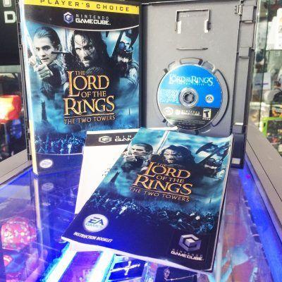 Videojuegos para consola GameCube The Lord of the Rings: The Two Towers Ecuador Comprar Venden, Bonita Apariencia ideal para los fans, practica, Hermoso material de papel Color como en la imagen Estado usado