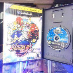 Videojuegos para consola GameCube Sonic Adventure 2 Battle Ecuador Comprar Venden, Bonita Apariencia ideal para los fans, practica, Hermoso material de papel Color como en la imagen Estado usado