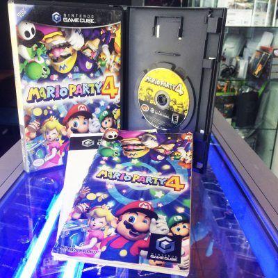 Videojuegos para consola GameCube Mario Party 4 Ecuador Comprar Venden, Bonita Apariencia ideal para los fans, practica, Hermoso material de papel Color como en la imagen Estado usado